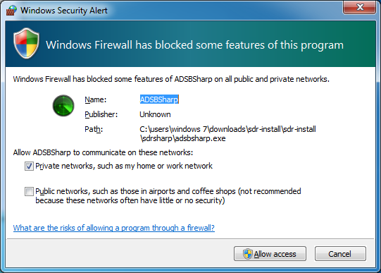 adsb-05_adsbsharp-03_windows_firewall