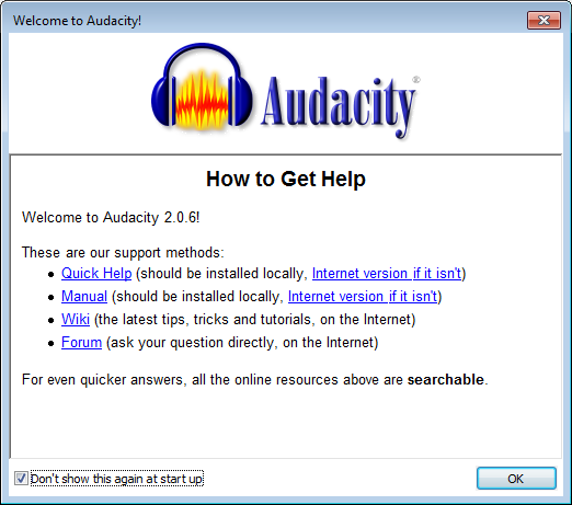 radio_interface_setup-05_recording-02_audacity_welcome