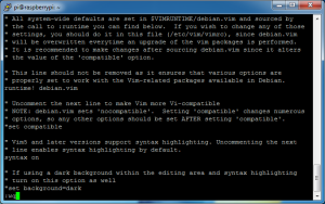 fldigi-pi-05_update_raspbian-07_vimrc_syntax_on