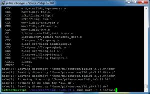 fldigi-pi-08_compile_fldigi-05_make_install