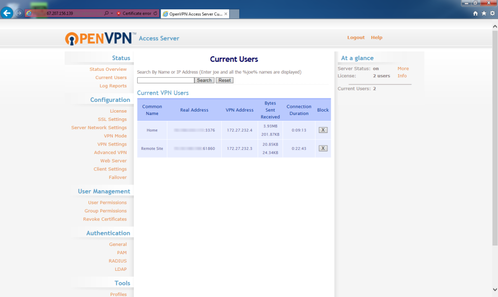 Openvpn Access Server License Key